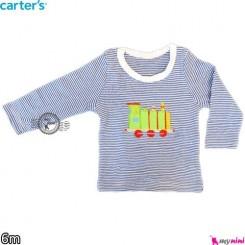 بلوز آستین بلند کارترز 6 ماه carter's long sleeve t shirts