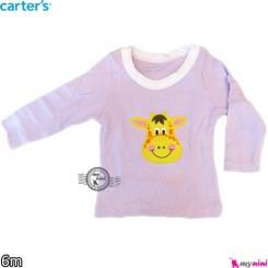 لباس کارترز 6 ماه carter's long sleeve t shirts