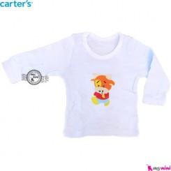 لباس کارترز آستین بلند آبی بز carter's long sleeve t shirts