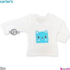 لباس کارترز آستین بلند موش 9 ماه carter's long sleeve t shirts