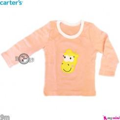 لباس کارترز آستین بلند 9 ماه carter's long sleeve t shirts