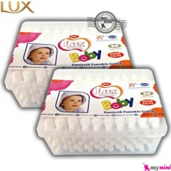 گوش پاک کن محافظ دار لوکس ترکیه 60 عددی Lux Baby cotton care