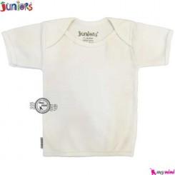 بلوز آستین کوتاه جونیورز پنبه ای Juniors baby Tshirt