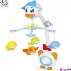 آویز تخت متحرک هویلی تویز قو باطری خور Huile Toys swan mobile
