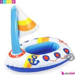 اسباب بازی حمام و استخر اینتکس قایق Intex Puff n play