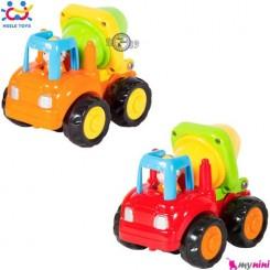 ماشین بونکر سیمان هویلی تویز Huile Toys building car