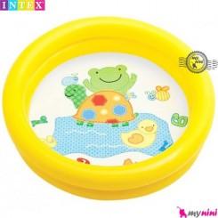 وان بادی اینتکس زرد قورباغه Intex baby pool