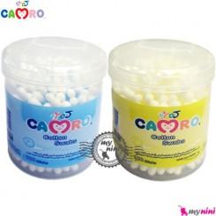 گوش پاک کن کمرُو 100 عددی Camro Baby cotton swabs