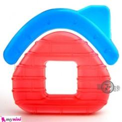 دندانگیر مایع دار سیسمونی نوزاد طرح خانه Baby teether house shape