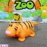 پوپت وان ببر سایز بزرگ Interesting zoo baby bath toys