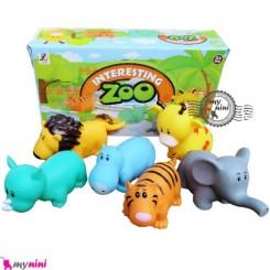 پوپت وان باغ وحش سایز بزرگ Interesting zoo baby bath toys
