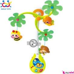 آویز تخت موزیکال و چراغ خواب هویلی تویز Huile toys infant developmental mobile