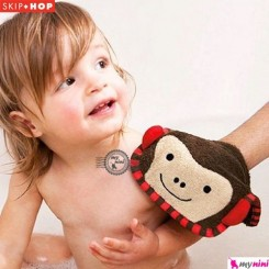 لیف اسکیپ هاپ عروسکی میمون Skip Hop monkey wash mitt