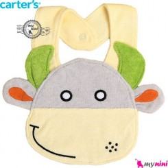 پیشبند کارترز عروسکی گاو Carter's baby animal bibs