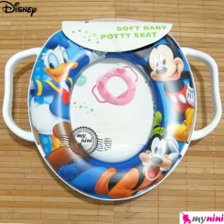 تبدیل توالت فرنگی کودک میکی موس پسر Disney soft baby potty seat