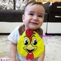 پیشبند کارترز عروسکی خروس Carter's baby animal bibs