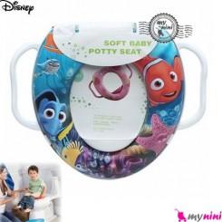 تبدیل توالت فرنگی کودک نِمو Disney soft baby potty seat