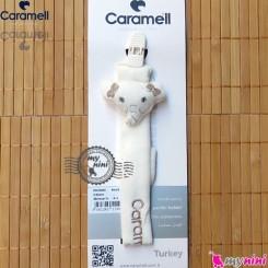 بند پستانک کارامل عروسکی فیل Caramell baby pacifier holder