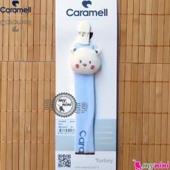 بند پستانک کارامل عروسکی لُپ گلی Caramell baby pacifier holder