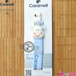 بند پستانک کارامل عروسکی زرافه Caramell baby pacifier holder