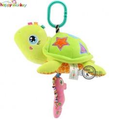 عروسک موزیکال آویز لاکپشت هپی مانکی Happy monkey musical toys