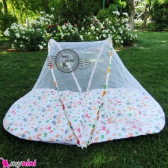 پشه بند کودکان تشکدار حیوانات Baby mosquito net