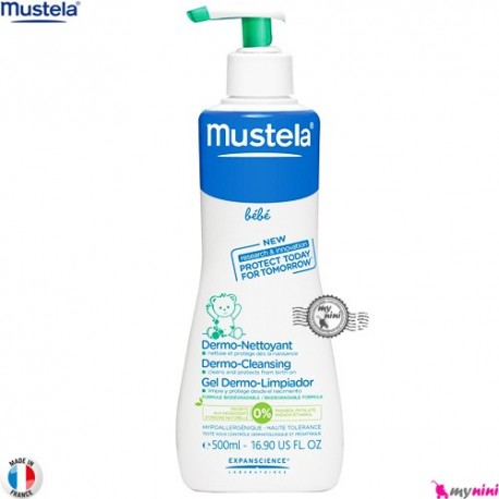 شامپو غیر صابونی درموکلینزینگ موستلا Mustela Gentle cleansing gel