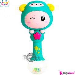 جغجغه موزیکال و چراغدار هویلی تویز گوسفند Huile Toys zodiac dynamic rhythm sticks