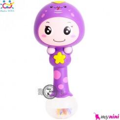 جغجغه موزیکال و چراغدار هویلی تویز مار Huile Toys zodiac dynamic rhythm sticks