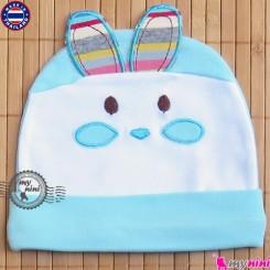 کلاه کشی نوزاد پنبه ای خرگوش تایلندی Newborn cotton hat