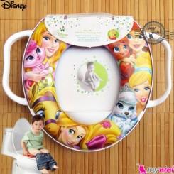 تبدیل توالت فرنگی کودک باربی Disney soft baby potty seat