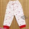 شلوار پنبه ای کفشدوزکی سفید طرحدار Ladybird baby Pants