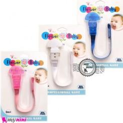 بند پستانک فلاور بی بی Baby cute pacifier holder