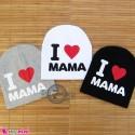 کلاه کشی کودک وارداتی آی لاو ماما 6 ماه تا 4 سال I Love mama baby hat