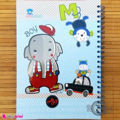 نی نی نامه خاطرات نوزاد و کودک پسر فیل Notes to baby