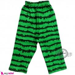 شلوار پنبه ای طرح هندوانه cute watermelon baby clothes