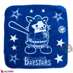 حوله دست و صورت نوزاد و کودک آبی ستاره Baby washcloths