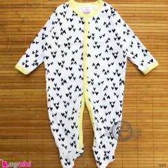 سرهمی کارترز پنبه ای نوزاد و کودک 3 ماه Carter's baby bodysuit
