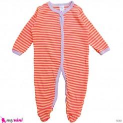 سرهمی کارترز پنبه ای نوزاد و کودک راه راه 3 ماه Carter's baby bodysuit