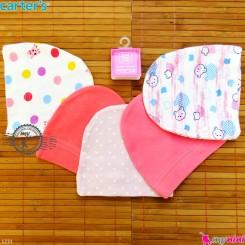 کلاه کشی نوزاد پنبه ای کارترز 5 عددی Carter's Newborn cotton hat خرید سیسمونی