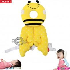 بالش ضربه گیر کودک طرح زنبور مارک اورجینال SKK Baby protector pillow محافظ سر نوزاد و کودک