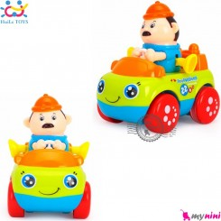 اسباب بازی ماشین هویلی تویز نوزاد و کودک طرح مهندس Huile Toys professional car سیسمونی و وسایل کودک
