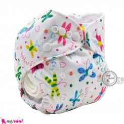 شورت آموزشی 3 لایه فشِن بی بی پروانه Fashion baby reusable diaper