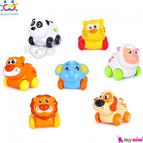 مجموعه حیوانات اسباب بازی هویلی تویز نشکن 7 عددی Huile Toys animals