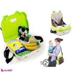 تبدیل صندلی کودک و ساک لوازم 2 کاره Parent Child Chair