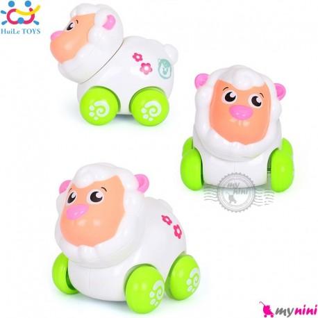 اسباب بازی هویلی تویز گوسفند نشکن Huile Toys animal cars