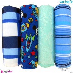 خشک کن کارترز اورجینال جعبه ای نوزاد و کودک نخ پنبه ای 4 عددی Carters baby textile