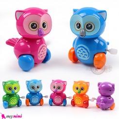 اسباب بازی سیسمونی کوکی جغد بامزه Cute owl toys sharp catling