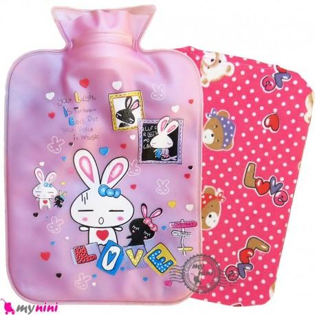 کیسه آبگرم و آبسرد کاوردار نوزاد و کودک یاسی خرگوش Hot and cold Water Bottle