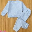 ست بلوز و شلوار گرم بچگانه دورس آبی توکُرکی Baby warm clothes set